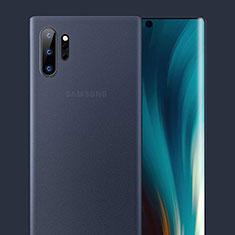 Ultra-thin Transparent Matte Finish Case U01 for Samsung Galaxy Note 10 Plus 5G Blue