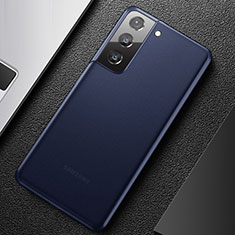 Ultra-thin Transparent Matte Finish Case U01 for Samsung Galaxy S21 Plus 5G Blue