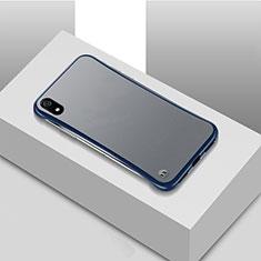 Ultra-thin Transparent Matte Finish Case U01 for Xiaomi Redmi 7A Blue