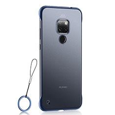 Ultra-thin Transparent Matte Finish Case U03 for Huawei Mate 20 Blue