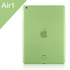 Ultra-thin Transparent Matte Finish Cover for Apple iPad Air Green