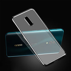 Ultra-thin Transparent Plastic Case Cover for Realme X Black