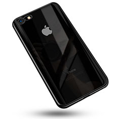 Ultra-thin Transparent TPU Soft Case C02 for Apple iPhone SE (2020) Black