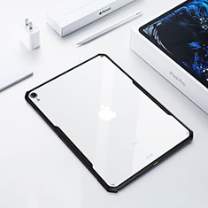 Ultra-thin Transparent TPU Soft Case Cover for Apple iPad Pro 12.9 (2018) Black