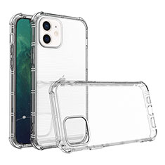 Ultra-thin Transparent TPU Soft Case Cover for Apple iPhone 12 Clear