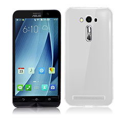 Ultra-thin Transparent TPU Soft Case Cover for Asus Zenfone 2 Laser 6.0 ZE601KL Clear