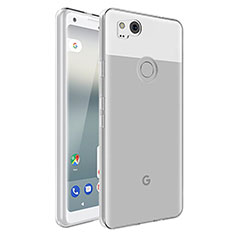 Ultra-thin Transparent TPU Soft Case Cover for Google Pixel 2 Clear