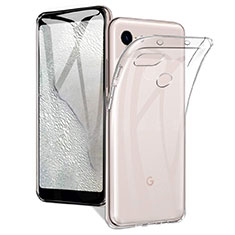 Ultra-thin Transparent TPU Soft Case Cover for Google Pixel 3a Clear
