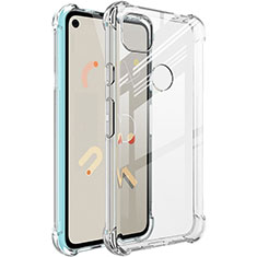 Ultra-thin Transparent TPU Soft Case Cover for Google Pixel 4a Clear