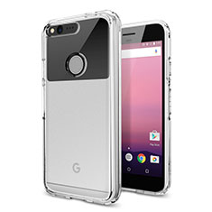 Ultra-thin Transparent TPU Soft Case Cover for Google Pixel XL Clear