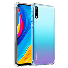 Ultra-thin Transparent TPU Soft Case Cover for Huawei Enjoy 10 Clear