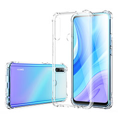 Ultra-thin Transparent TPU Soft Case Cover for Huawei Enjoy 10 Plus Clear