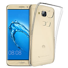 Ultra-thin Transparent TPU Soft Case Cover for Huawei G9 Plus Clear