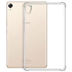 Ultra-thin Transparent TPU Soft Case Cover for Huawei MediaPad M6 10.8 Clear