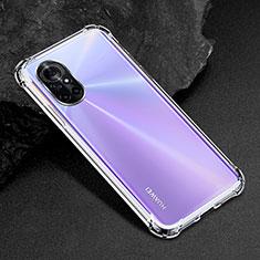 Ultra-thin Transparent TPU Soft Case Cover for Huawei Nova 8 Pro 5G Clear