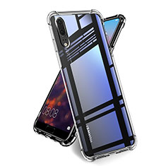 Ultra-thin Transparent TPU Soft Case Cover for Huawei P20 Clear