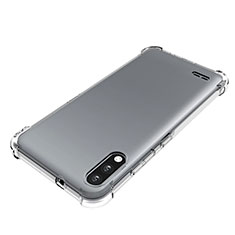 Ultra-thin Transparent TPU Soft Case Cover for LG K22 Clear