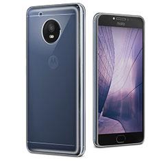 Ultra-thin Transparent TPU Soft Case Cover for Motorola Moto E4 Plus Clear