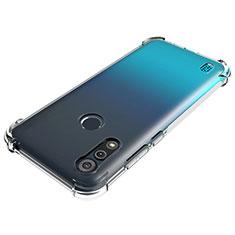 Ultra-thin Transparent TPU Soft Case Cover for Motorola Moto E6s (2020) Clear