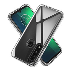 Ultra-thin Transparent TPU Soft Case Cover for Motorola Moto G8 Plus Clear
