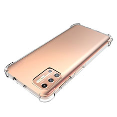 Ultra-thin Transparent TPU Soft Case Cover for Motorola Moto G9 Plus Clear