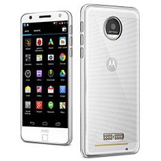 Ultra-thin Transparent TPU Soft Case Cover for Motorola Moto Z Clear