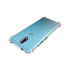 Ultra-thin Transparent TPU Soft Case Cover for Nokia 2.4 Clear