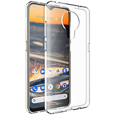 Ultra-thin Transparent TPU Soft Case Cover for Nokia 5.3 Clear