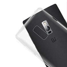 Ultra-thin Transparent TPU Soft Case Cover for OnePlus 2 Clear