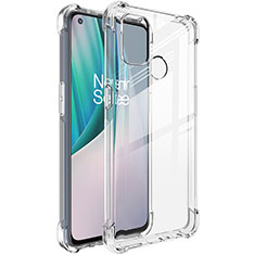 Ultra-thin Transparent TPU Soft Case Cover for OnePlus Nord N100 Clear