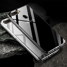 Ultra-thin Transparent TPU Soft Case Cover for Oppo A12 Clear