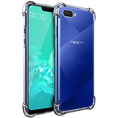 Ultra-thin Transparent TPU Soft Case Cover for Oppo A12e Clear