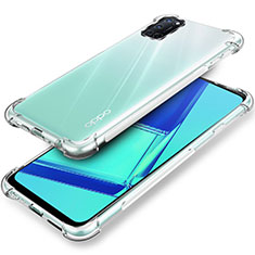 Ultra-thin Transparent TPU Soft Case Cover for Oppo A92 Clear