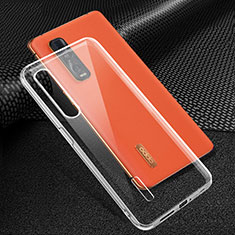 Ultra-thin Transparent TPU Soft Case Cover for Oppo Find X2 Pro Clear