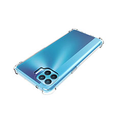 Ultra-thin Transparent TPU Soft Case Cover for Oppo Reno4 F Clear
