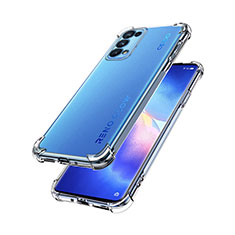 Ultra-thin Transparent TPU Soft Case Cover for Oppo Reno5 Pro 5G Clear