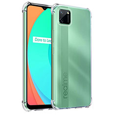 Ultra-thin Transparent TPU Soft Case Cover for Realme C11 Clear