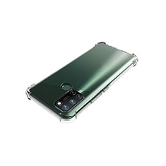 Ultra-thin Transparent TPU Soft Case Cover for Realme C17 Clear