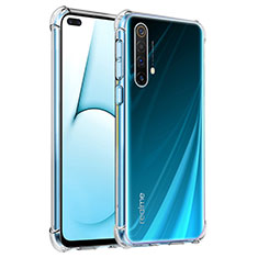 Ultra-thin Transparent TPU Soft Case Cover for Realme X50 5G Clear