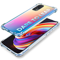 Ultra-thin Transparent TPU Soft Case Cover for Realme X7 Pro 5G Clear