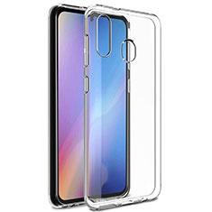 Ultra-thin Transparent TPU Soft Case Cover for Samsung Galaxy A20e Clear