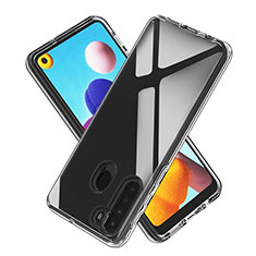 Ultra-thin Transparent TPU Soft Case Cover for Samsung Galaxy A21 Clear