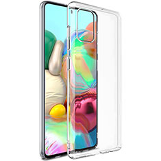 Ultra-thin Transparent TPU Soft Case Cover for Samsung Galaxy A51 4G Clear
