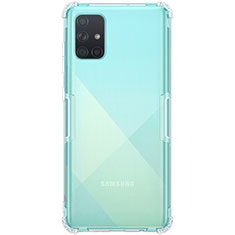 Ultra-thin Transparent TPU Soft Case Cover for Samsung Galaxy A71 5G Clear