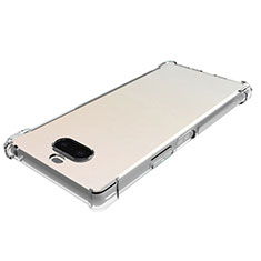 Ultra-thin Transparent TPU Soft Case Cover for Sony Xperia 8 Lite Clear