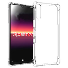 Ultra-thin Transparent TPU Soft Case Cover for Sony Xperia L4 Clear