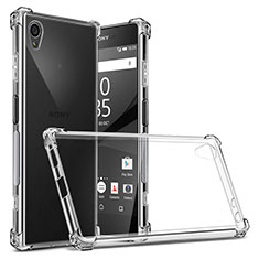 Ultra-thin Transparent TPU Soft Case Cover for Sony Xperia XA1 Plus Clear