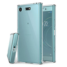 Ultra-thin Transparent TPU Soft Case Cover for Sony Xperia XZ1 Compact Clear