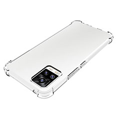 Ultra-thin Transparent TPU Soft Case Cover for Vivo V20 Clear