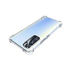 Ultra-thin Transparent TPU Soft Case Cover for Vivo V20 SE Clear